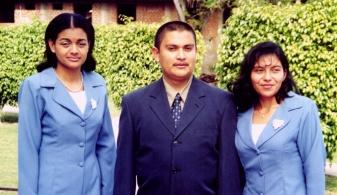 2001 El Sembrador Bible Institute graduates
