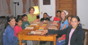 Sunday School in La Esperanza