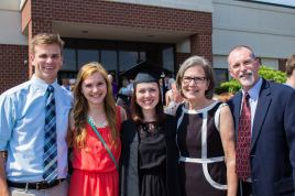May 2015.  Anna graduated from Asbury University!