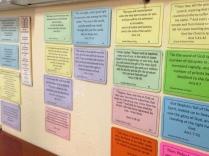 Middle School Memory Verses