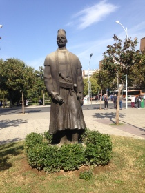 Statue of Sulejman Pasha (founder of Tirana)